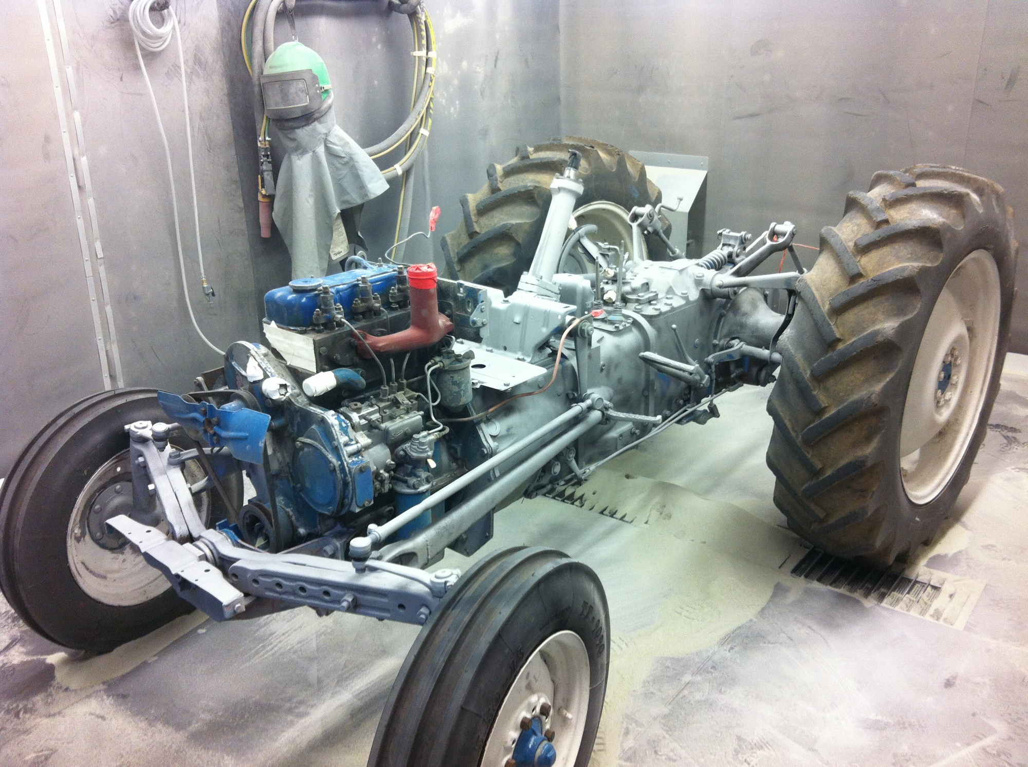 Tractor Chassis Rye Metal Finishing